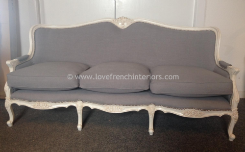 Louis XVI Three Seat Sofa 2